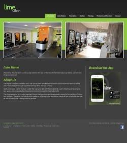 First Step Website - Lime Salon