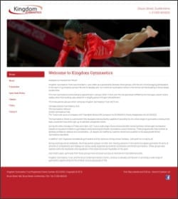 First Step Website - Kingdom Gymnastics