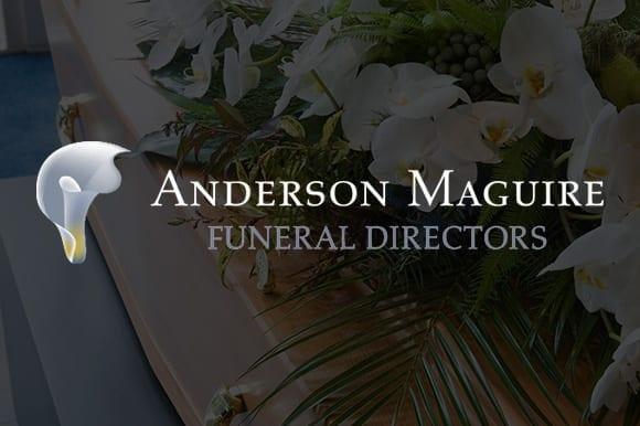 Anderson Maguire Funeral Directors website